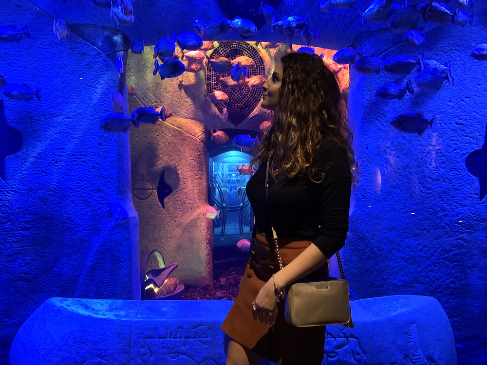 Aquarium at Atlantis the Palm