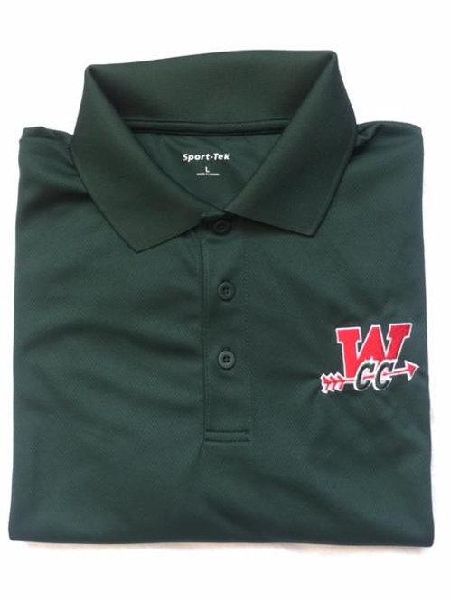 Mens Dri Fit Collared CC Sport Shirt