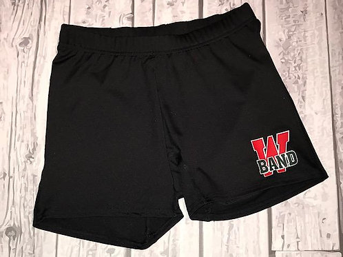 ***Required Under Uniform Item*** Band Ladies Compression Shorts