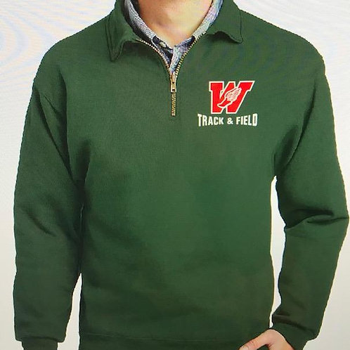 Track & Field Quarter-Zip Fleece