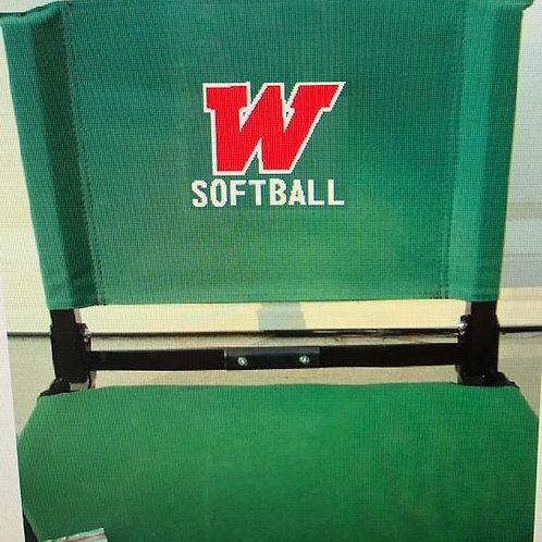 W Softball Stadium Chair