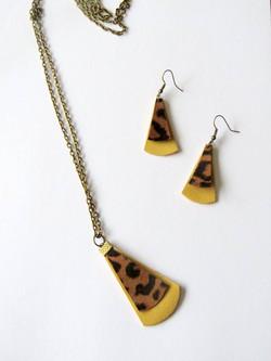 leopard/natuurleer