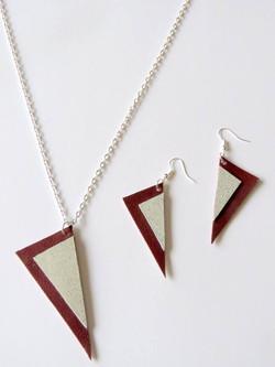 bordeaux/zilver