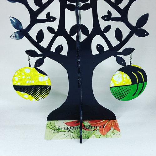 Kalisa Earrings - green