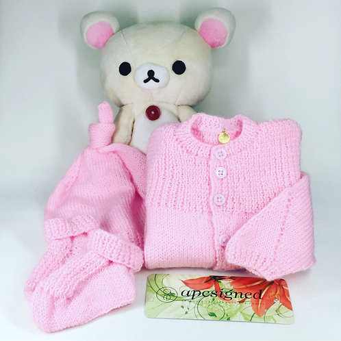 Baby Ensemble Box - pink