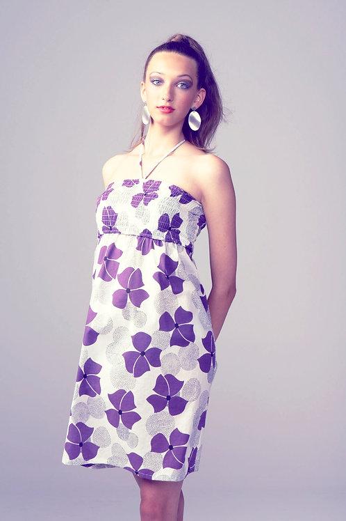 Puppy Dress - purple