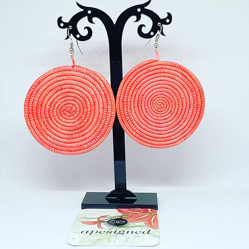 Shema earrings - coral