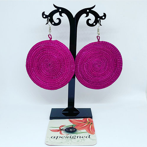Shema earrings - cherry