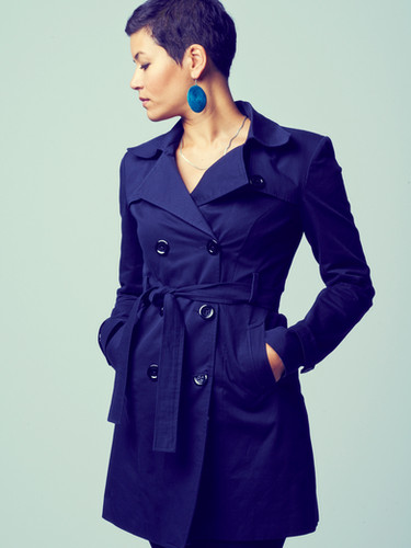 Tailor-made trench coat