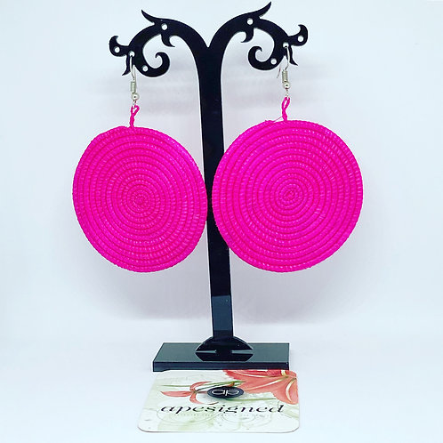 Shema earrings - pink