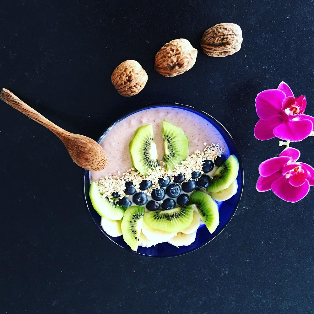 Le petit déjeuner vegan au Sorgho