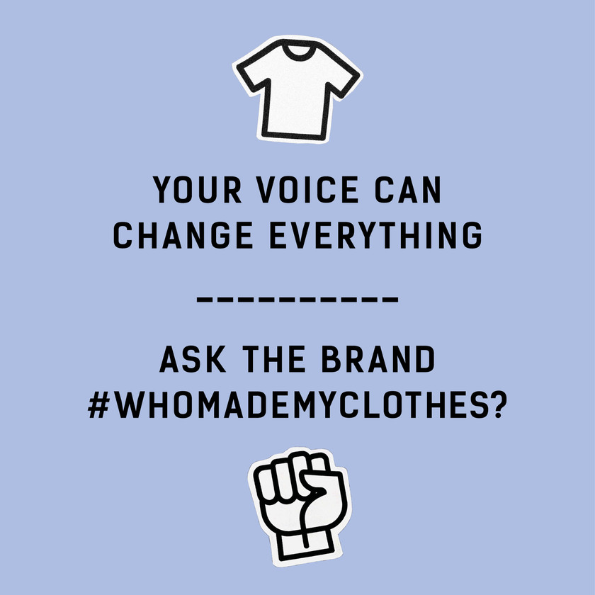 like apesigned be part of the fashion revolution and ask #whomadethis because #whatyouwearmatters