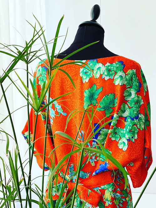 Silk Dress - Kimono
