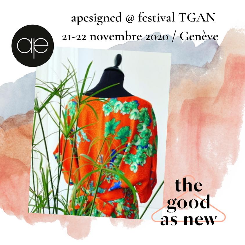apesigned @ Festival the good as new du 21-22-11-2021