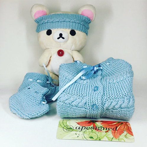 Baby Ensemble Box - blue