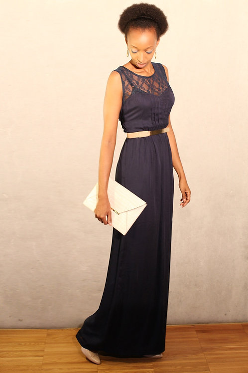 Grace Dress - marin blue