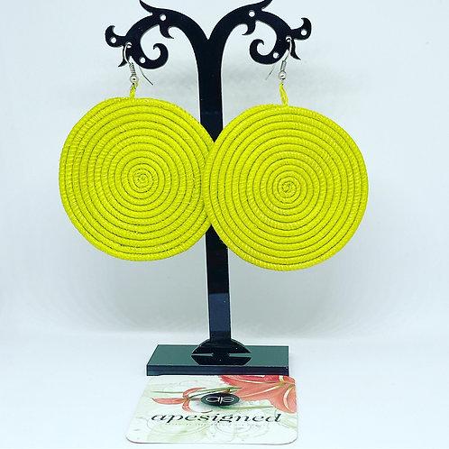 Shema earrings - granny smith