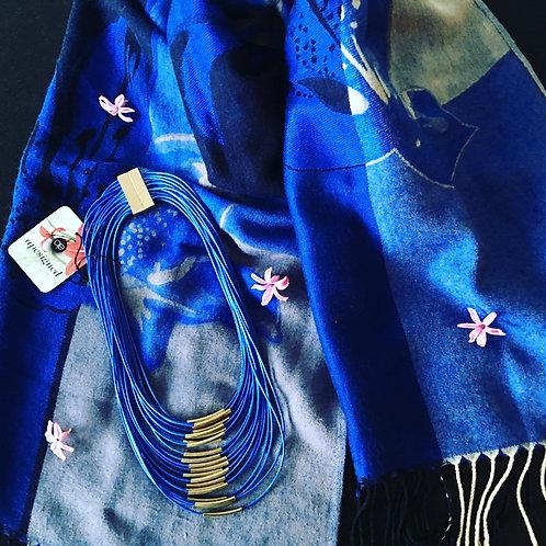 Pashmina - blue
