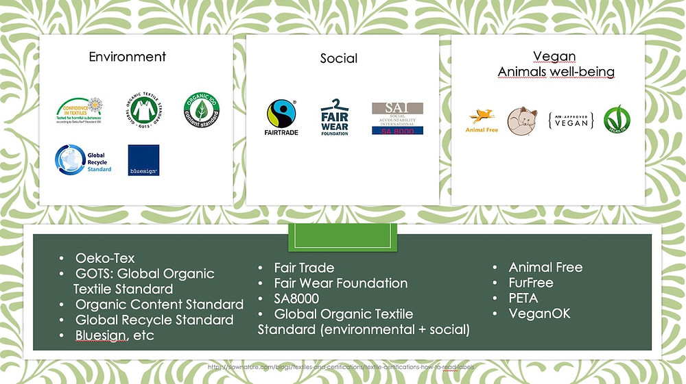 fashion sustainable standards - apesigned