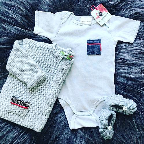 Baby Ensemble Box - grey