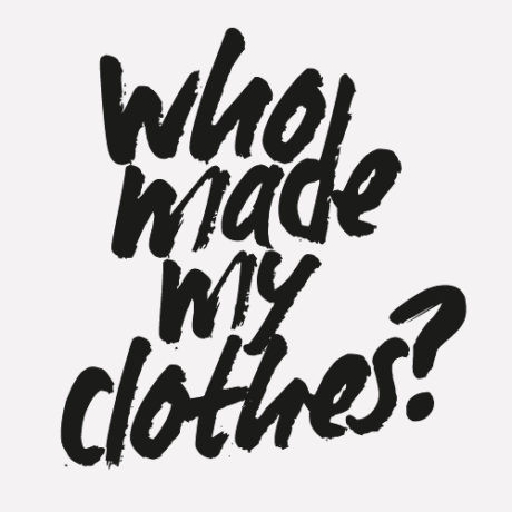 Fashion Revolution Week #whomademyclothes