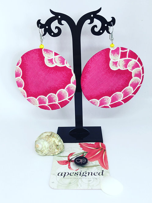 Kalisa Earrings - pink