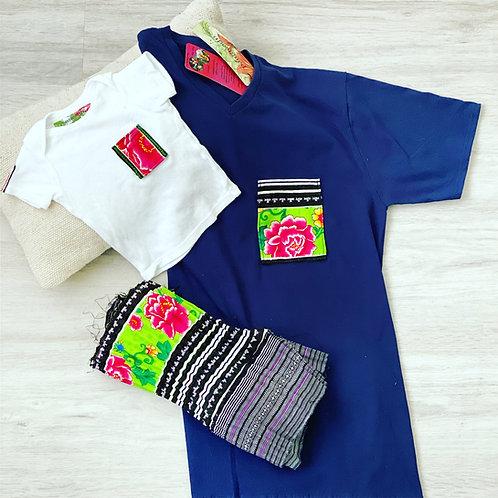 T-Shirt - Ethnic Flower