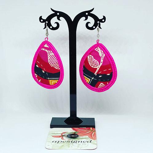Gloria earrings - pink
