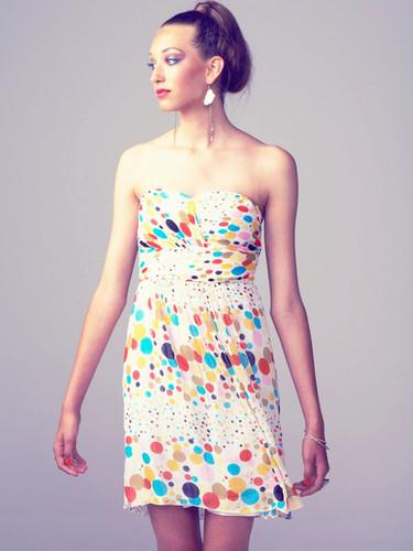 Rainbow dress