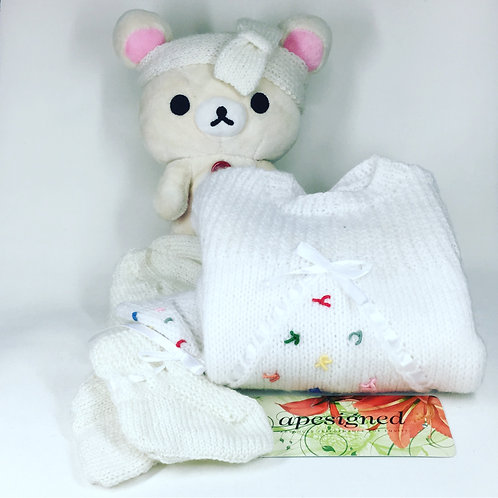 Baby Ensemble Box - white