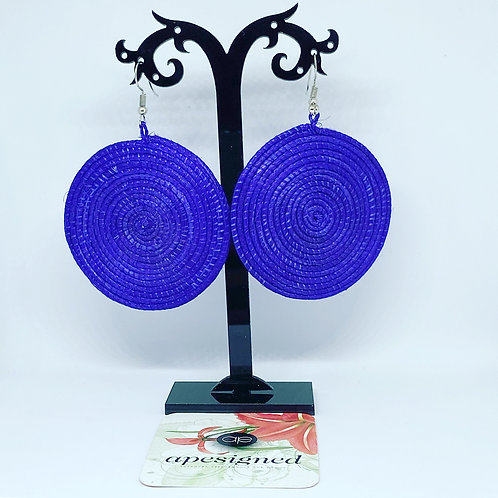 Shema earrings - violet