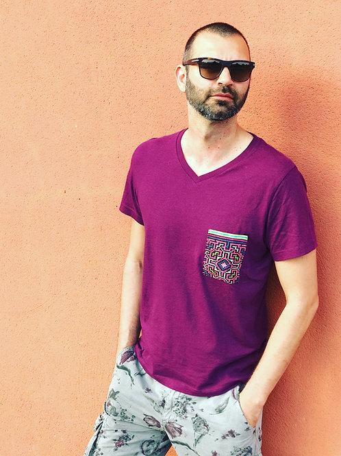 Ethnic T-Shirt - purple