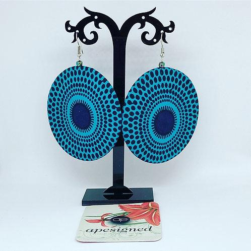 Kalisa earrings - turquoise