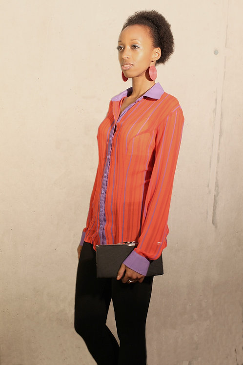 Chiara Shirt - red/mauve