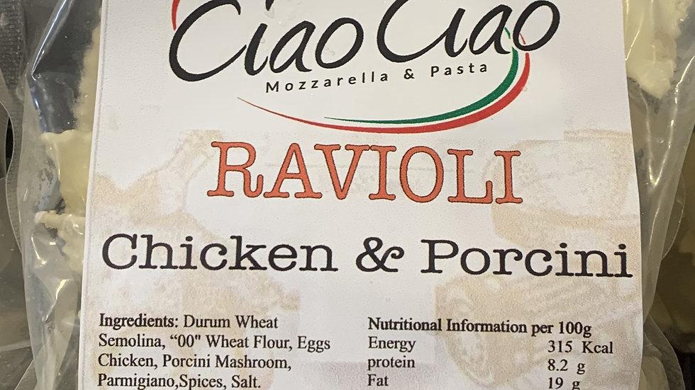 Chicken & Porcini Mushroom Ravioli