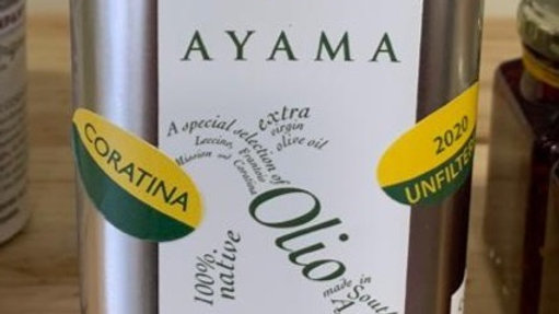 Olive oil Unfiltered (Ayama)