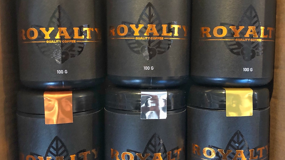 Royalty Packs - 6 cafés (600g)