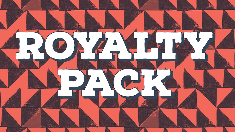 Royalty Pack - Os 6 cafés da vez