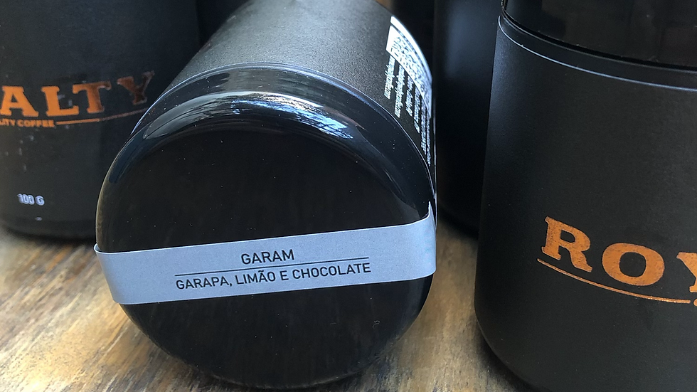 Garam - Garapa, Limão e Chocolate