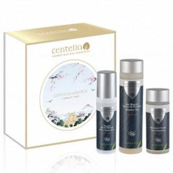 Coffret Centella Men Les cosmétiques Bio essentiels pour homme