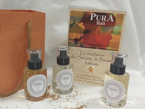 3 Parfums  eau de drap Pura Bali