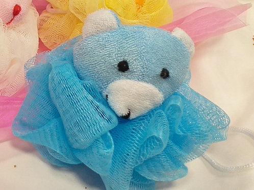 Fleur de Douche enfants Animaux Bleue Sourie