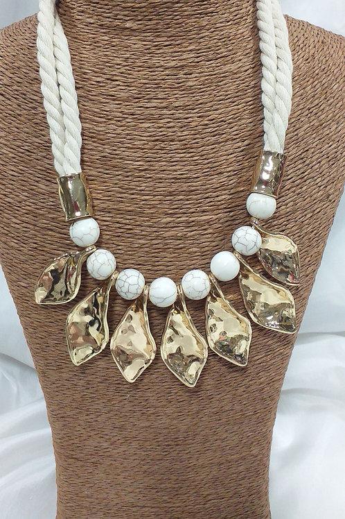 Collier pierres naturelles