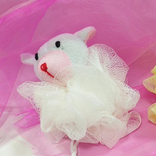 Fleur de Douche enfants Animaux Blanche Sourie