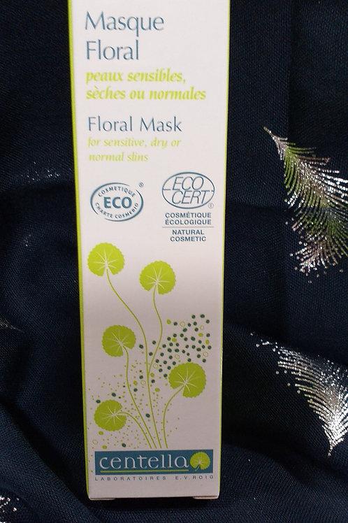 Masque floral Peaux Normales à Sèches Bio Centella