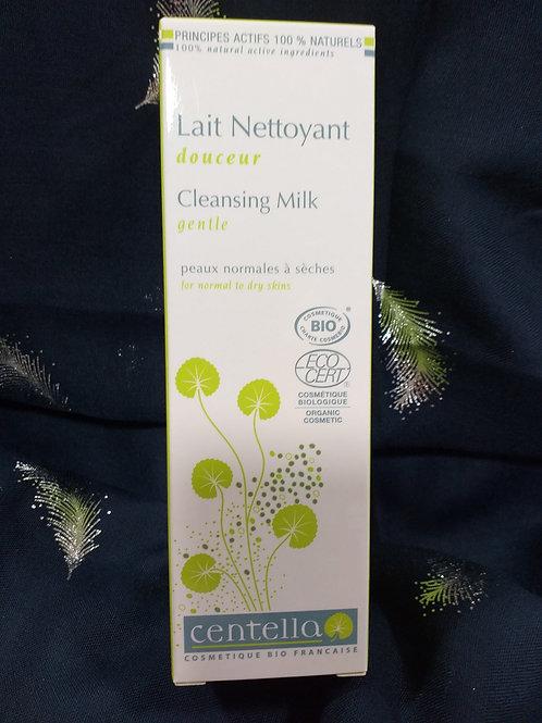 Lait nettoyant bio peau sèche
