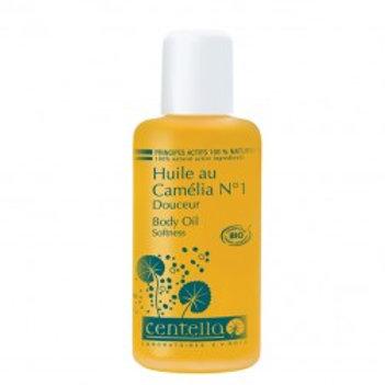 Huile Camélia Douceur n°1 Bio Centella