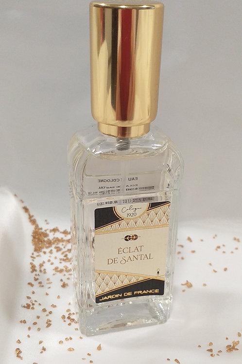 Cologne Eau de parfum Eclat de Santal Jardin de France 30ml