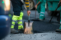 asphalt patchwork