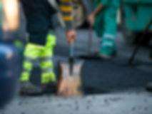 asphalt patching